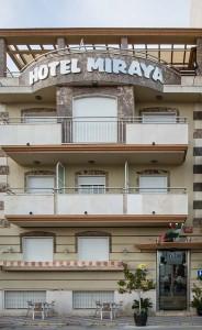 Fachada Hotel Miraya - Hotel en Torre del Mar - Málaga